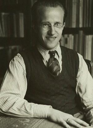 Egon Johannesen kort efter sin ansættelse i Israelsmissionen i 1943.