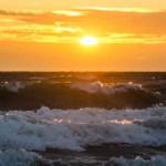 Der er ikke meget, der slår en solnedgang ved Vesterhavet.