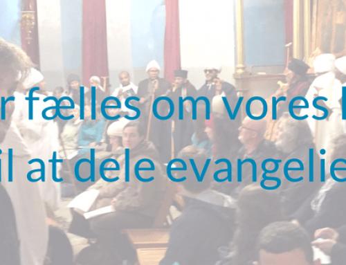 Vi er fælles om vores kald til at dele evangeliet