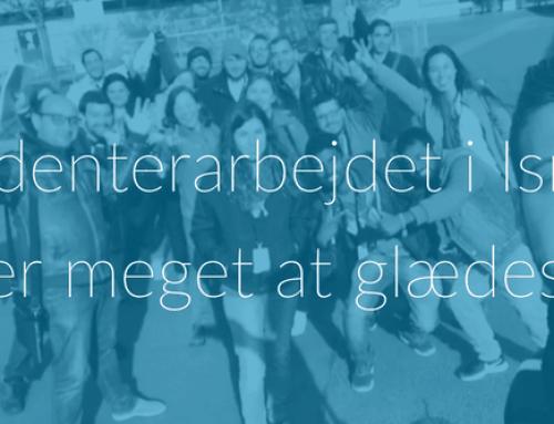 """Studenterarbejdet i Israel: """"der er meget at glædes over"""""""
