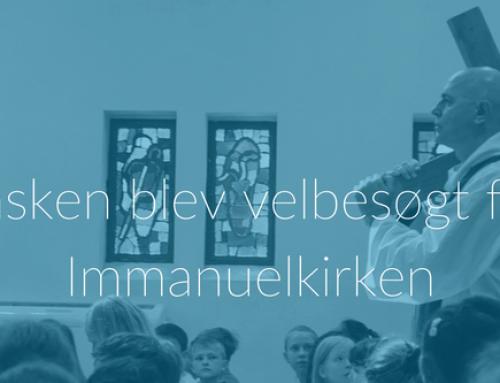 Påsken blev velbesøgt for Immanuelkirken