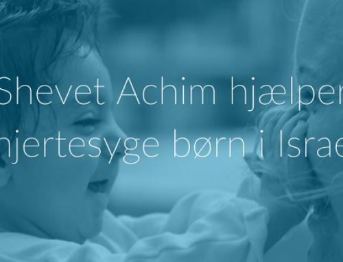 Shevet Achim hjælper hjertesyge børn i Israel