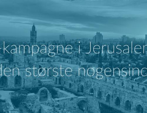 Jesus-kampagne i Jerusalem blev den største nogensinde