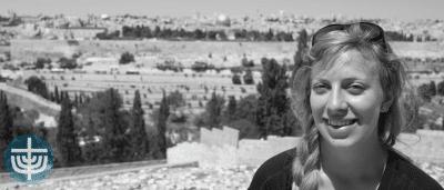 Kirsten i Israel