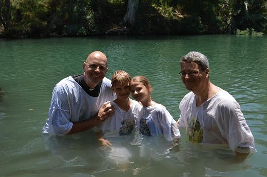 Dåb i Jordanfloden