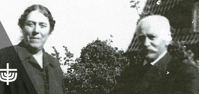 Abraham Scheradsky og hans kone